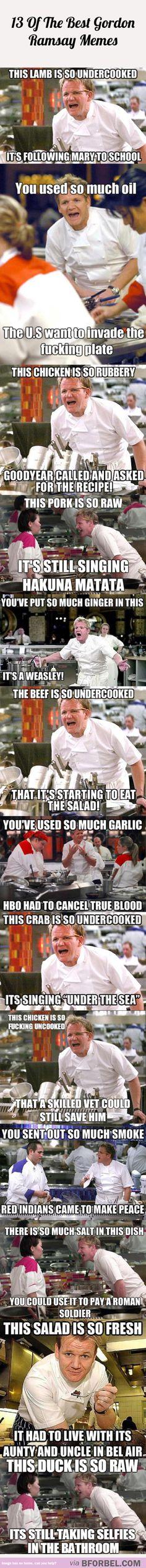 13 Of The Best Gordon Ramsay Memes…