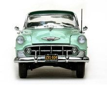 Sunstar 1/18 Scale 1953 Chevy Bel Air Hard Top Coupe Green Diecast Car Model SS 1604 - www.DiecastAutoWorld.com 2312 W. Magnolia Blvd., Burbank, CA 91506 818-355-5744 AUTOart Bburago Movie Cars First Gear GMP ACME Greenlight Collectibles Highway 61 Die-Cast Jada Toys Kyosho M2 Machines Maisto Mattel Hot Wheels Minichamps Motor City Classics Motor Max Motorcycles New Ray Norev Norscot Planes Helicopters Police and Fire Semi Trucks Shelby Collectibles Sun Star Welly