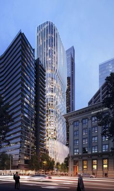 """Image 3 of 10 from gallery of Zaha Hadid Architects Releases New Images, Animation of """"Stacked Vase"""" Tower for Melbourne. Photograph by Zaha Hadid Architects"""