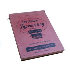 1947 Typing Book - Typewriting Book - Lessenberry & Crawford - 20th Century Fifth Edition by BatnKatArtifacts