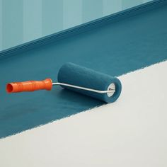 How to create and animate a paint roller with Maxon's Cinema 4D so that it actually lays down paint using Xpresso for connections.