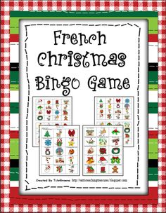French+Christmas+Bingo+Game+from+Terri'sTeachingTreasure+on+TeachersNotebook.com+-++(17+pages)+