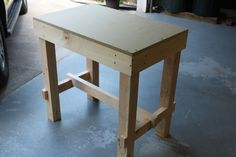 A Collapsible Workbench