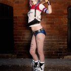 [Self] Ashe Rogue Suicide Squad Harley Quinn Cosplay