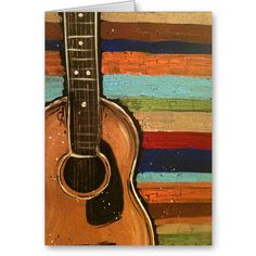 Guitar Music Instrument Modern Art Painting Image For Home Decoration Silk Canvas Fabric Print Poster Wallpaper (Mainland)) Guitar Painting, Guitar Art, Painting & Drawing, Acoustic Guitar, Guitar Strumming, Music Painting, Design Poster, Print Poster, Paint And Sip