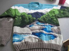 Northern Forest by Landscape Sweaters