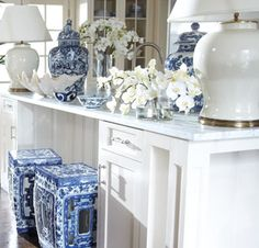 Coastal Blue and White by Ethan Allen