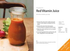 #Red #Vitamin Juice with Whole Slow #Juicer #CS600