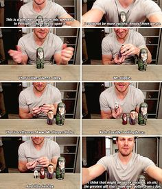 Stephen Amell. Sinceriously.