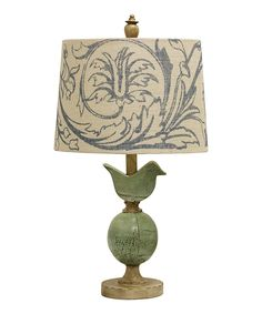 Look at this Blue Bird Lamp on #zulily today!