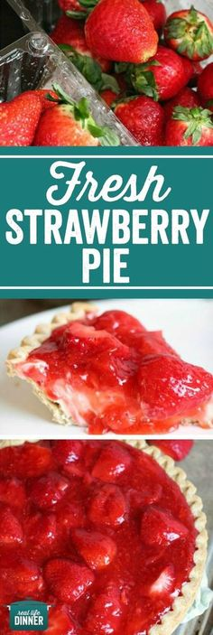 This is like no other Fresh Strawberry Pie you have ever had. So Fresh and Delicious with a fantastic layer of creamy no-bake cheesecake goodness!!