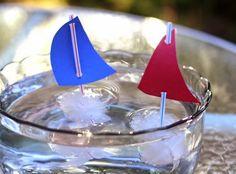Arte Surpresa: Barquinhos de gelo