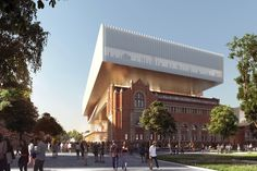 Architecture firms OMA and Hassell have revealed designs for a major new museum in Perth, Australia, that will slot amongst a series of heritage buildings Australia Occidental, Perth Australia, Western Australia, Modern Architecture Design, Museum Architecture, Cultural Architecture, Rem Koolhaas, Architecture Visualization, New Museum