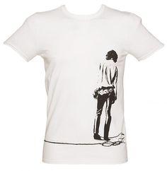 Men\u0027s Black Vintage Doors T-Shirt