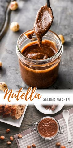 Das einfachste (und leckerste) Rezept für Nutella!