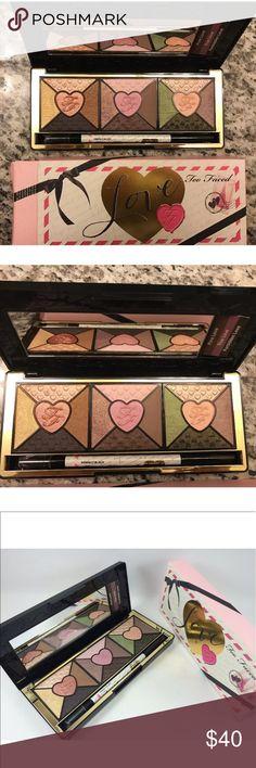Too Faced Love Eyeshadow Palette NIB New in box Beautiful 100% Authentic Too faced Love Eyeshadow Palette Too Faced Makeup Eyeshadow