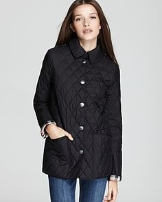 Burberry Brit Pirmont Quilted Jacket     $595.00