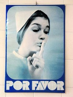 En toooodos los dispensarios y salas de espera de los médicos de los años 70. ¿Qué habrá sido de esta mujer?