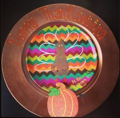 Thanksgiving plate charger!