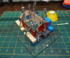 Clamps for assembling structures... | Model Railroad Hobbyist magazine | Having fun with model trains | Instant access to model railway resources without barriers