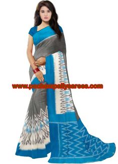 8725283e92c 8 Popular POCHAMPALLY IKKAT COTTON SAREES images