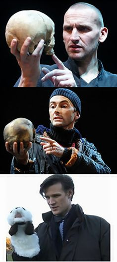 This is amazing!  I actually saw David Tennant play Hamlet! Oh Matt Smith!
