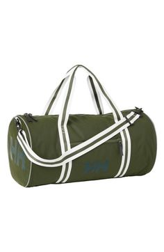 Helly Hansen Travel Beach Bag - Green In Forest Night Helly Hansen, Green Bag, Beach Trip, Travel Bags, Gym Bag, Sewing Projects, Night, Shopping, Style