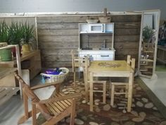 The Classroom Environment - beautiful series of photos & explanations of classroom learning centers