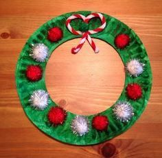 Image result for paper plate christmas crafts