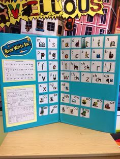 English Phonics, Teaching English, Read Write Inc Phonics, Primary School Displays, Phonics Display, Display Boards For School, Learn To Read, Literacy, Activities For Kids