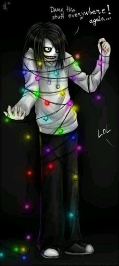 Jeff :3 it's Christmas Jeff... Don't worry!!