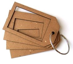 Tunnel tag Chipboard Book for scrapbooking altered by umwowstudio