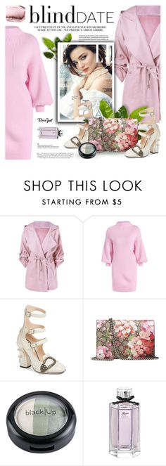 """Rosegal: Blind Date"" by defivirda ❤ liked on Polyvore featuring Kerr® and Gucci"