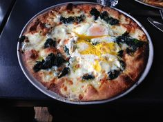 Sparks, Minneapolis. Favorite dishes: Truffle egg pizza with kale