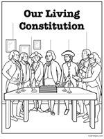coloring pages constitution balance power