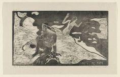 Paul Gauguin.  Auti te Pape (Women at the River) from Noa Noa (Fragrance). 1894, printed 1921