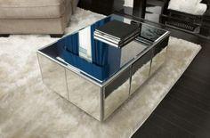 Trendy DIY mirror table