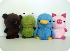 muñequitos a crochet