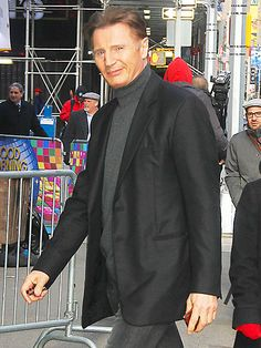 Star Tracks: Friday, February 28, 2014 | BIG STRIDES | There's no stopping Liam Neeson, who continues to promote his latest action flick Non-Stop Thursday on ABC's Good Morning America.