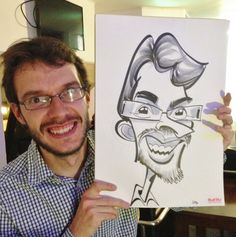 Corporate caricatures in Oxford's Keble College