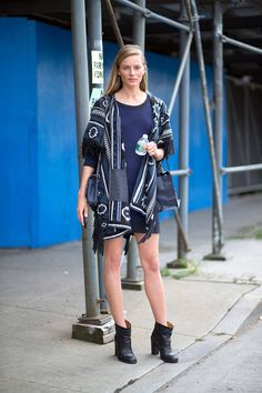 Girl on the Street: New York Fashion Week - Page 24  - HarpersBAZAAR.com