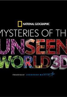 Science Museum IMAX Mysteries of unseen world logo