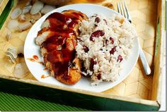 Jamaican Jerk Chicken & Jamaican Red Beans & Rice -- made it and it was delish! | IowaGirlEats
