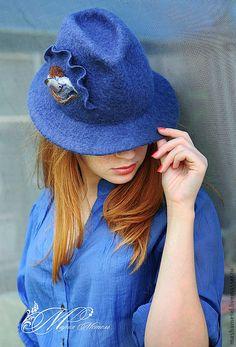 Hanndmade felted hat