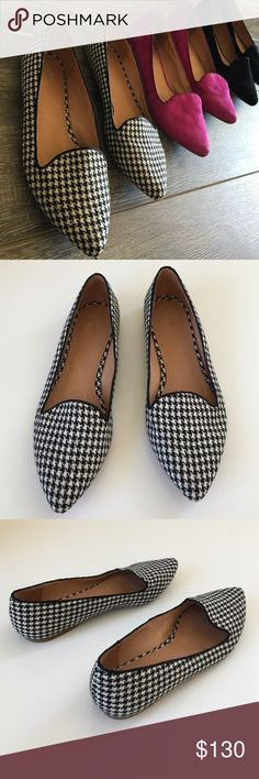 Joie Tweeted Flat Joie Tweeted Flats worn only a handful of times. Light storage wear but in great condition still. So cute and comfy! This listing is only for the one pair of tweeted flats others listed in closet. Joie Shoes Flats & Loafers