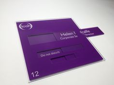 Changeable door signs Doctors nameplates Medical Sliding door signs http://www.de-signage.com/office_signs_for_doors.php
