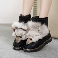 Ummmmmm....--> Fox Warm Ankle Booties