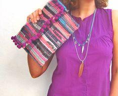 Mindy Boho Chic Kilim Clutch S/S15 Collection by maslinda on Etsy