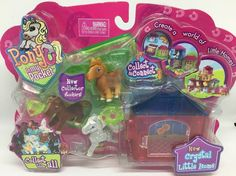 Little Houses, Kids Toys, Pony, Puppies, Stickers, Pocket, Crystals, Birthstones, Childhood Toys