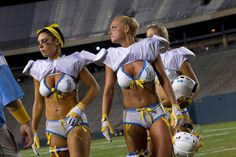 Legends Football League - San Diego Seduction take the field in the Cotton Bowl to play the Dallas Desire...